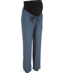 pantaloni prémaman loose fit (blu) - bpc bonprix collection
