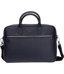 emporio armani vulcanized briefcase