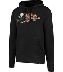'47 brand men's cincinnati bengals retro knockaround hoodie