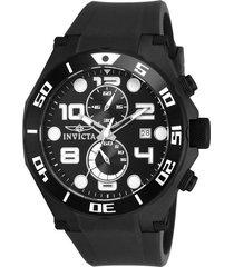 reloj invicta 15397 negro poliuretano