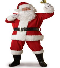 buy seasons men's legacy santa suit costume