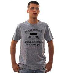 camiseta mamonas assassinas brasília amarela masculina - masculino