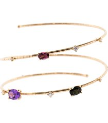 rainbow rugiada two wrap bracelet
