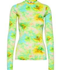 blusa/blouse blus långärmad grön msgm