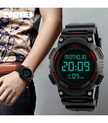 reloj deportivo para hombre reloj al aire libre-rojo
