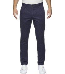 pantalón azul calvin klein hayden pleat lw