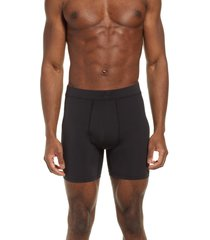 men's new balance boxer briefs, size medium - black