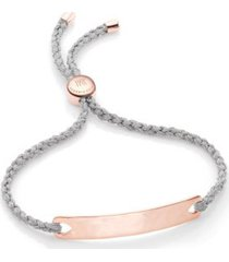 rose gold havana friendship bracelet