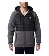 columbia men's kentucky wildcats northern comfort full-zip hooded sweatshirt