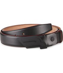 carby leather belt