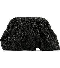 benedetta bruzziches venere crystal clutch - black