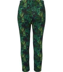 7/8-legging met jungle-print van doris streich multicolour
