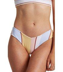 billabong feeling sunny fiji bikini bottoms, size small in multi at nordstrom