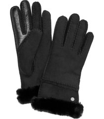 ugg stitched slim tech gloves