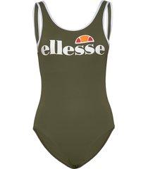 el lilly swimsuit baddräkt badkläder grön ellesse