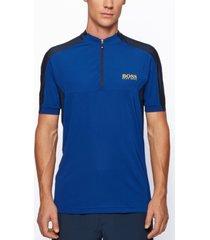 boss men's pariq 2 slim-fit logo polo shirt