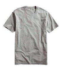 camiseta masculina básica algodáo premium modelo exclusivo cinza
