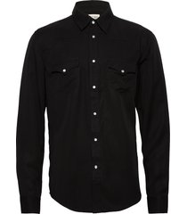 pure w skjorta casual svart tiger of sweden jeans