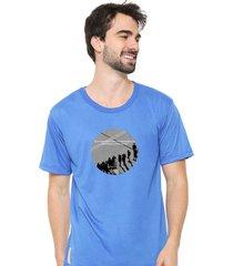 camiseta sandro clothing moment azul - azul - masculino - dafiti