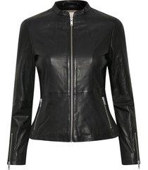 glenda leather jacket