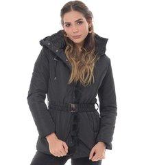 chaqueta para mujer en poliester negro color negro talla xxs