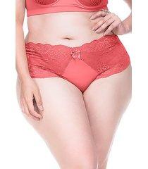 calcinha sempre sensual lingerie retrô coral