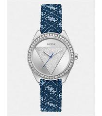 kryształowy analogowy zegarek