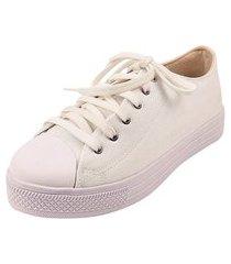 tênis casual calce fácil rosa chic calçados all casual sapatênis iate lona branco