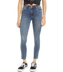 women's sts blue ellie high waist ankle jeans, size 32 - blue