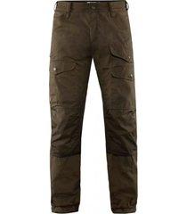 pantalón vidda pro ventilated m long chocolate fjall raven