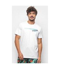 camiseta cyclone seta silk masculina