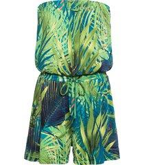 tuta corta a fascia (verde) - bodyflirt boutique