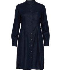 woven dresses knälång klänning blå marc o'polo
