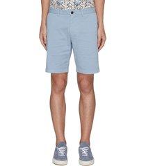 'zaine' patton dyed cotton shorts