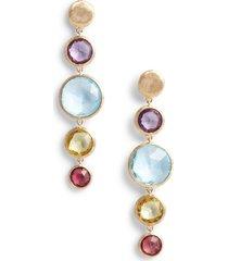 women's marco bicego jaipur semiprecious stone drop earrings