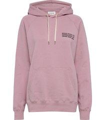fred hoodie hoodie trui roze wood wood