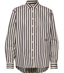 capri långärmad skjorta multi/mönstrad totême