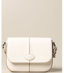tods crossbody bags tods leather bag with logo