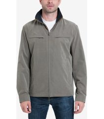 london fog litchfield microfiber jacket, created for macy's