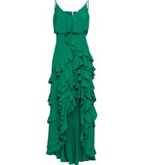 abito con volant (verde) - bodyflirt boutique