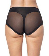 panty panty control suave negro leonisa 012657