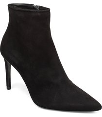 booties 3360 shoes boots ankle boots ankle boot - heel svart billi bi