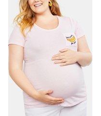 motherhood maternity bananas for you plus size tee