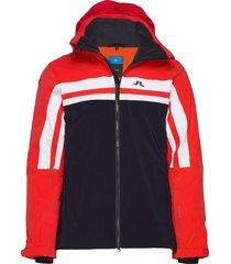 m hayes jkt-dermizax ev 2l outerwear sport jackets multi/mönstrad j. lindeberg ski