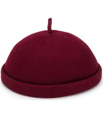 henrik vibskov round-top beret - red