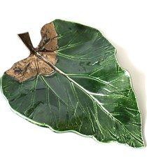 patera dekoracyjno- użytkowa big leaf-mała