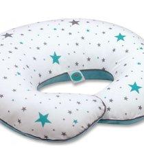 poduszka do karmienia bawełniane gwiazdy + milutki welur