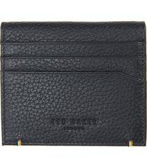 men's ted baker london leather card case - blue