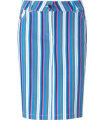 rok in maritieme stijl strepen van looxent multicolour