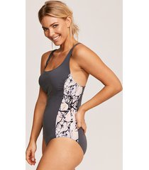freestyle sports underwire shaping one-piece swimsuit c-gg